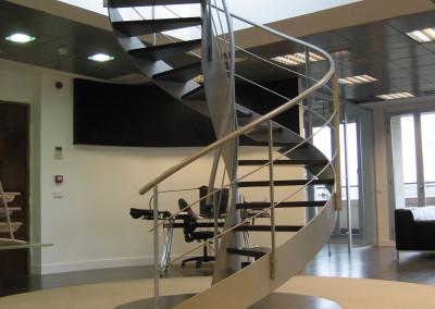 Escalera helicoide de diseño