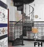 Escalera de Fundición