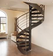 Escalera de caracol Metálica.