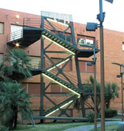 Escalera de Emergencia de Diseño
