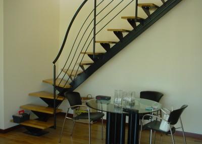 Escalera Zanca Central .3