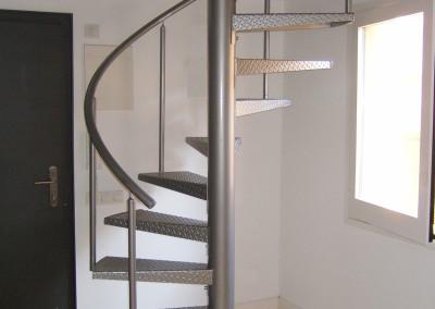 Spiraal trappen van metaal m47