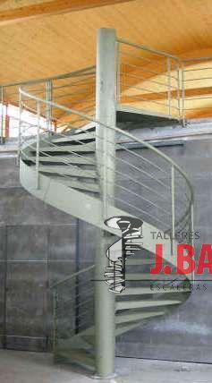Spiraal trappen van metaal model MGD metal
