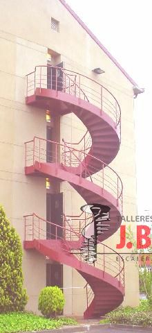 Emergency ladder Collection Emergency Stair in Spiral